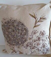 NEXT 4 Dandelion Design Cushions Beige Size 43cm X 43cm BNWT