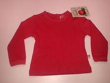 Baby-Pullover für Mädchen ohne Muster aus 100% Baumwolle