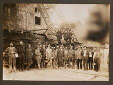 ANTIQUE M.R. & B.T. RAILWAY LEAD MINERS MISSISSIPPI BONNE TERRE MISSOURI PHOTO