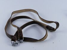 GENUINE ORIGINAL VINTAGE BROWN LEATHER ROLLEI ROLLEIMAGIC CAMERA STRAP W