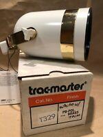 NEW T329 Trac-Master Juno Cylinder Track Lighting Cap Spotlight