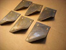 Lot of 6 New Disk Scrapers John Deere IHC Planter Disc