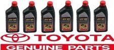 6x Genuine WS ATF World Standard Automatic Transmission Fluid Oil for Toyota