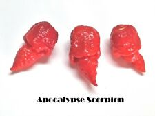 #2 Future World Record Hottest Pepperseed Collection-NagaReaper,Moruga UV,8 More