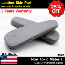Seat Armrest Leather for Chevy Tahoe Suburban Escalade Yukon 00-06 Pewter Gray