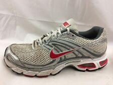 8777873ee599 Nike Air Max Moto 6 Womens 7.5 M White Red Silver Bowerman Walking Shoes  Sneaker
