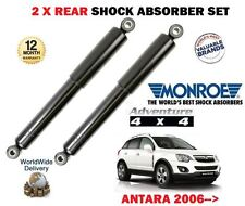 FOR VAUXHALL OPEL ANTARA 2006-> NEW 2x REAR SHOCK ABSORBER SHOCKERS SET