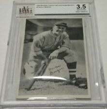 1936 National Chicle Fine Pen Premiums R313 #7 Wally Berger Boston Braves