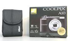 NIKON COOLPIX A10 Digitalkamera schwarz 16.1 Megapixel 5x opt. Zoom