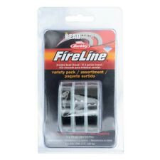 BeadSmith FireLine Variety Pack Thread Wire Black Stringing Material