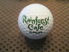 Logo Golf Ball-Rain Forest Cafe.Florida.Colorful.Fro g Logo