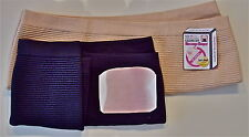 Calorie OFF Black Pair Arm Black Waist M/L Massage Trim Slim Shapers SHIP in US