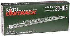 Kato N Scale Unitrack One Track Platform Complete Set 20-815 NEW