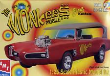 2000 AMT 30259-1HD 1/25 THE HEY, HEY...IT'S MONKEES barris kustom CAR MODEL KIT