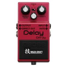 Boss DM2W Waza Craft Analog Delay Guitar Effect Pedal - Brand New!