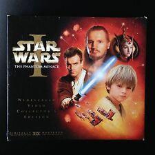 Star Wars I, Video Collector's Edition, VHS 2000, BOX, BOOK, 35mm FILM SOUVENIR