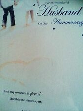 Husband Anniversary Card - Nice Words