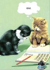 Ladybird Book Card: Idiot Cats (Lb53) New In Cello - Post Daily + Worldwide
