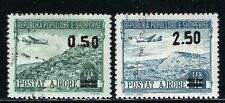 B&D: 1952-53 Albania Scott C61, C63 airmails cancelled