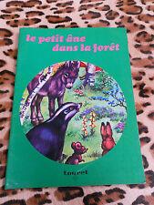 Le petit âne dans la forêt - éditions Touret