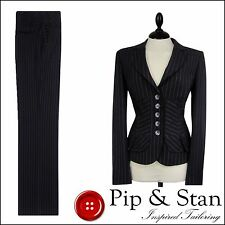 Business Trousers Pinstripe Suits & Tailoring NEXT for Women
