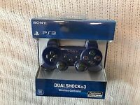 Brand New SEALED Sony Playstation 3 PS3 Dualshock 3 Wireless Controller -  BLUE