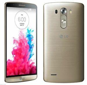 NEW SHINE GOLD SPRINT LG G3 LS990 G 3 32GB SMART PHONE JS99 B