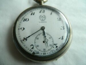 Taschenuhr Lanco 15 Rubis  Swiss Made  1907 ?