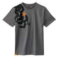 KTM Mens Arrow Tee Grey Cotton Short Sleeve T-Shirt New