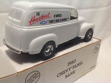 "CHEVROLET ""TODAY'S TRUCK"" BOW TIE 1950 CHEVY PANEL ERTL #9873 ONLY 2,508 MADE"