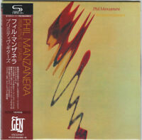 PHIL MANZANERA-PRIMITIVE GUITARS-JAPAN MINI LP SHM-CD BONUS TRACK Ltd/Ed F83