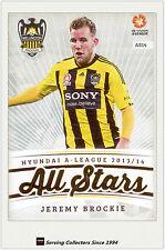 2013-14 A League Trading Cards All Stars AS14 Jeremy Brockie (Wellington)
