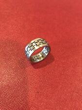 Porsche Men's Stainless Steel Laserfex Ring