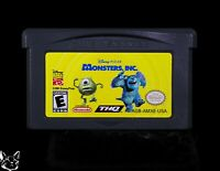 Monsters, Inc. [Nintendo Game Boy Advance Disney Pixar Licensed Action Kids Game