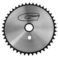 44T G Sprocket Chainring GT Style Chrome/Black Beach Cruiser Lowrider BMX