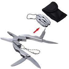 Multifunzione Mini pieghevole pinze cacciavite grattugia carta filo Taglierina