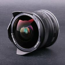 RISESPRAY 7.5mm f2.8 Super Wide Angle APS-C Fisheye Lens for Sony NEX E Mount
