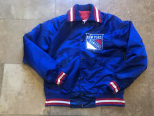 Vintage 90s New York Rangers Starter Satin NHL Jacket Men/Adult Small