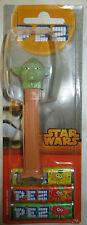 PEZ Spender Star Wars Yoda und 3 Packungen Bonbons NEU/OVP