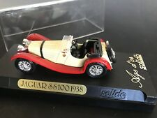 Solido Made in France JAGUAR SS100 1938 #4002 with Display Box