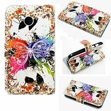 Credit Card Phone Silicone Leather Cover Case Pocket Skin For Motorola Moto E