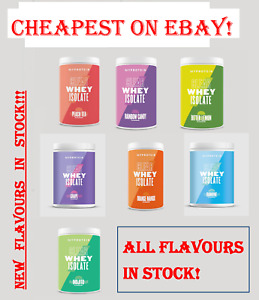 Clear Whey Isolate, My Protein, 20 & 35 Serving Tubs, NEW FLAVOURS IN STOCK!