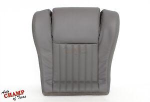 94 Pontiac Firebird Trans Am Ram Air -Driver Side Bottom Leather Seat Cover Gray