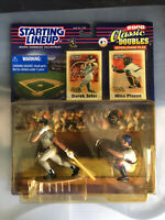 2000 STARTING LINEUP - SLU - MLB - DEREK JETER & MIKE PIAZZA - CLASSIC DOUBLES