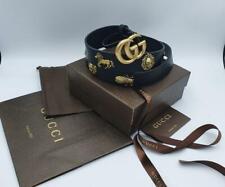 Gucci women's Marmont animal studs belt - size 36