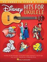 Disney Hits for Ukulele : 25 Songs to Strum & Sing, Paperback by Hal Leonard ...