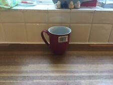 More details for denby - everyday - red salsa mug.brand new.