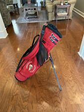 Jones Sports Arkansas Razorback Golf Club Stand Bag, 3-way Divider, Carry Strap