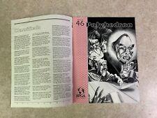 POLYHEDRON Issue 46  MARCH 1989 Volume 9 Number 2 RPGA Newszine Magazine #T921