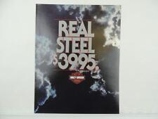Vintage 1983 Harley XLX-61 Real Steel Motorcycle Brochure L3262
